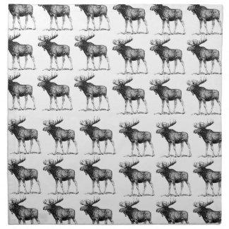 moose repeat moose napkin