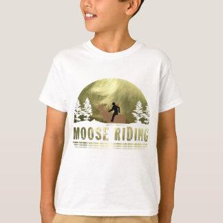 Moose Riding T-Shirt