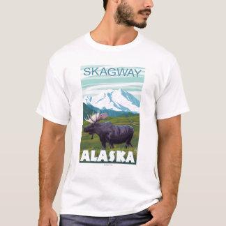 Moose Scene - Skagway, Alaska T-Shirt
