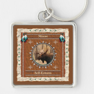 Moose  -Self-Esteem- Keychain