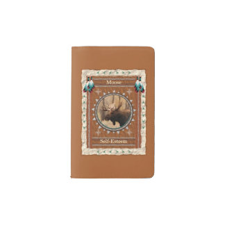 Moose  -Self-Esteem- Notebook Moleskin Cover