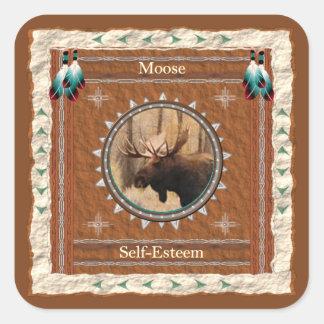 Moose  -Self-Esteem- Stickers - 20 per sheet