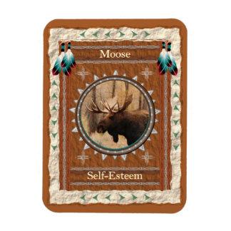 Moose  -Self-Esteem- Vinyl Flexi Magnet