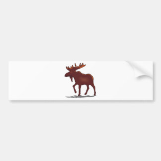 Moose Shirts and Gifts 129 Bumper Sticker
