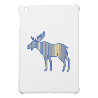Moose Silhouette Drawing iPad Mini Cases