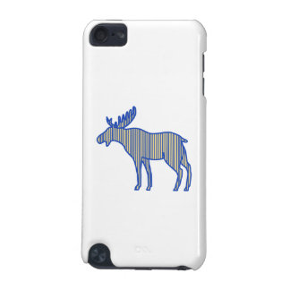 Moose Silhouette Drawing iPod Touch 5G Cases