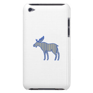 Moose Silhouette Drawing iPod Touch Case