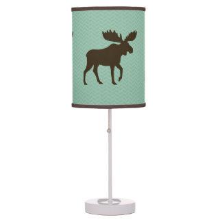 Moose Silhouettes Desk Lamp