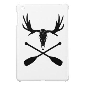 Moose Skull and Crossed Paddles iPad Mini Case