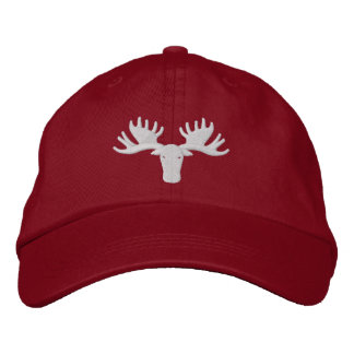 Moose Softball Hat Adjustable