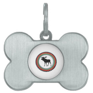 MOOSE TO SHOW PET TAG
