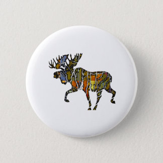 Moose Vibe 2 Inch Round Button