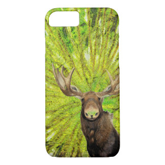 Moose visit iPhone 7 case