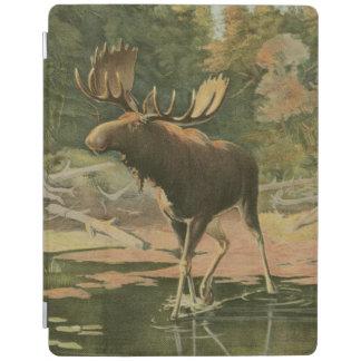 Moose Walking in Water iPad Cover