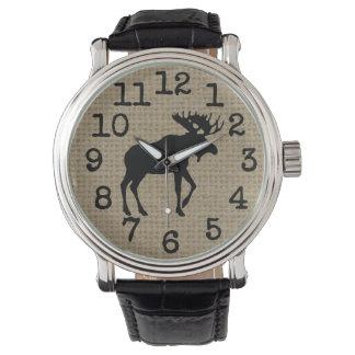 Moose Watch by Leslie Harlow