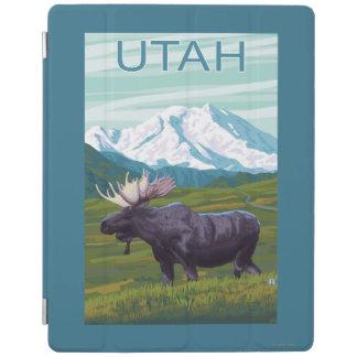 Moose with MountainUtah iPad Cover