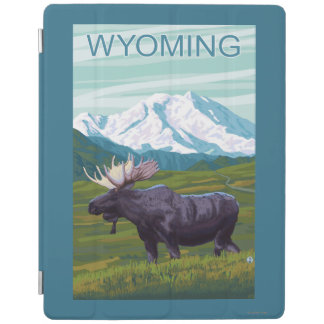 Moose with MountainWyoming iPad Cover
