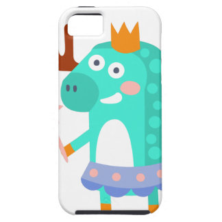Moose With Party Attributes Girly Stylized Funky iPhone 5 Case