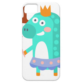 Moose With Party Attributes Girly Stylized Funky iPhone 5 Covers