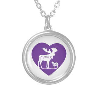 mooselambLOVE Silver Plated Necklace