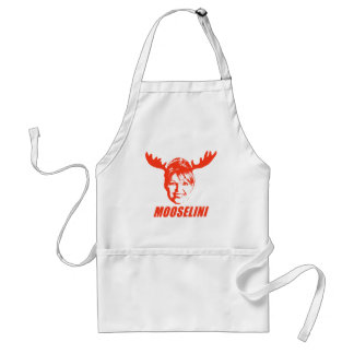 Mooselini T-shirts and Gifts Standard Apron