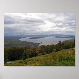 Mooselookmeguntic Lake, Maine Poster