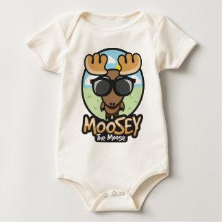 moosey summer baby bodysuit