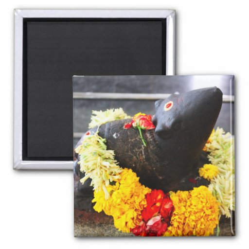 Mooshika, the mouse statue refrigerator magnets