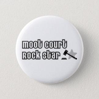 Moot Court Rock Star 2 Inch Round Button
