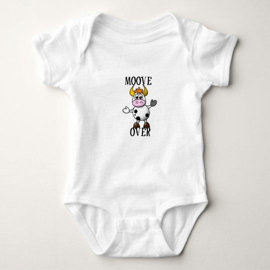 MOOVE OVER BABY BODY SUIT BABY BODYSUIT