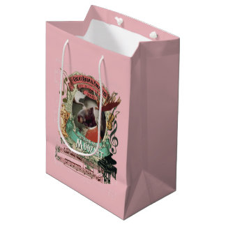 Moozart Great Animal Composer Mozart Spoof Medium Gift Bag