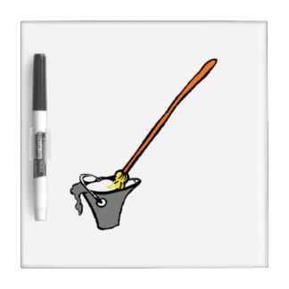 Mop Bucket Dry Erase Board