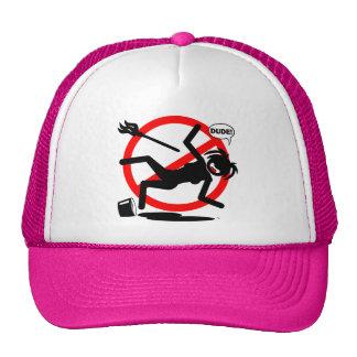 Mop Hazard T-Shirts and Apparel Mesh Hats