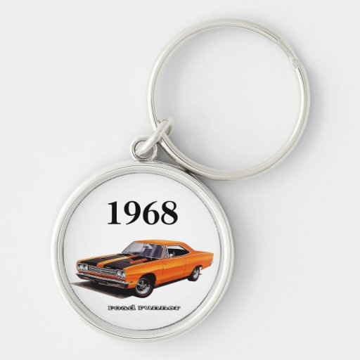 Mopar - 1968 Plymouth Road Runner - Satellite Key Chains