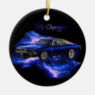 Mopar:  '69 Dodge Charger Ceramic Ornament