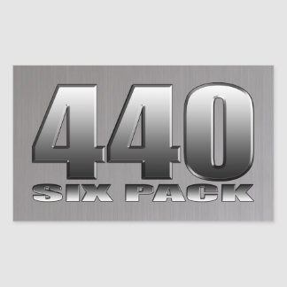 Mopar Dodge 440 Six Pack Sticker