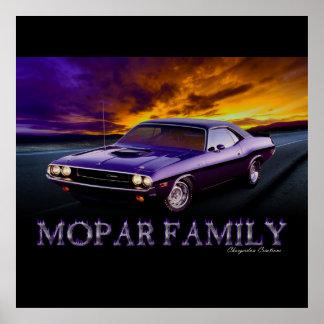 MOPAR FAMILY LARGE POSTER