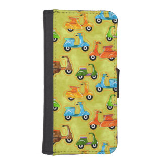 Mopeds iPhone SE/5/5s Wallet Case