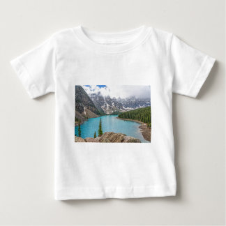 Moraine Lake After the Storm Baby T-Shirt