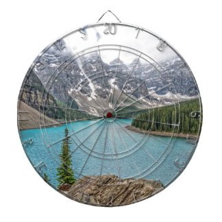 Moraine Lake After the Storm Dart Boards