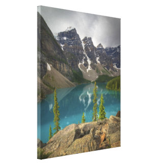 Moraine Lake Canada Stretched Canvas Prints