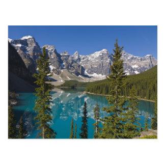 Moraine Lake, Canadian Rockies, Alberta, Canada 2 Postcard