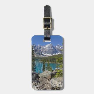 Moraine Lake, Canadian Rockies, Alberta, Canada Luggage Tag