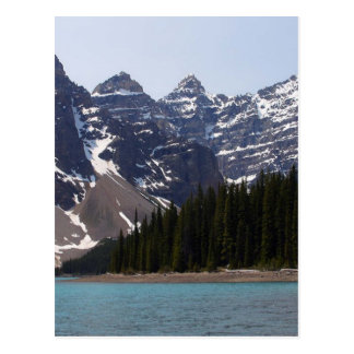 Moraine Lake Near Lake Louise In Canada Postcard