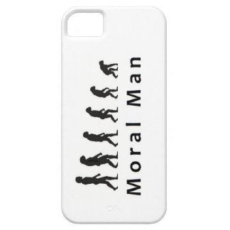 Moral Man iPhone Cover