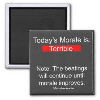 Morale Report Magnet