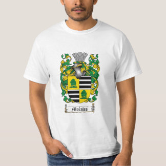 Morales Family Crest - Morales Coat of Arms T-Shirt