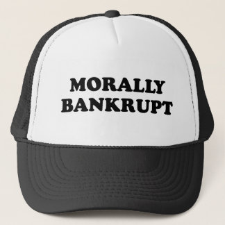 MORALLY BANKRUPT Cap