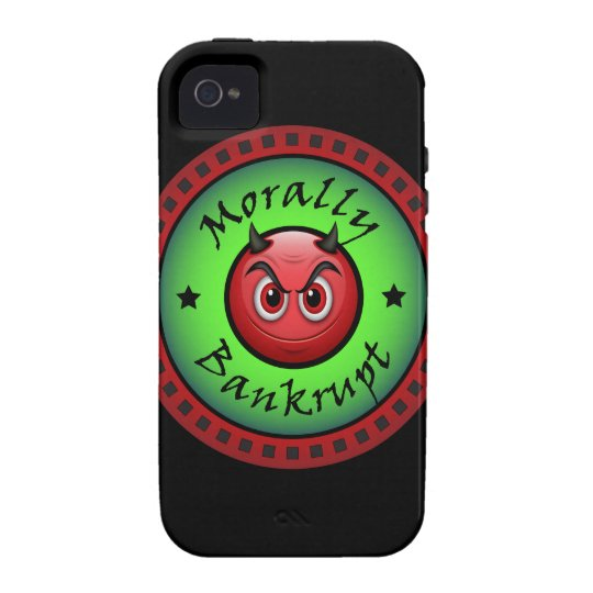 Morally Bankrupt! Case-Mate iPhone 4 Case