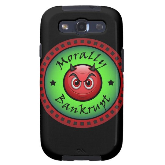 Morally Bankrupt! Galaxy S3 Covers